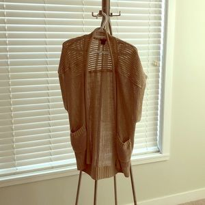 Club Monaco oversized t shirt cardigan